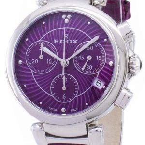 Edox LaPassion 102203CROIN 10220 3 c ROIN Chronograph kvartsi naisten Watch