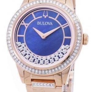 Bulova Crystal TurnStyle 98 L 247 kvartsi Diamond aksentti naisten Watch