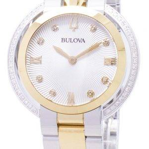 Bulova Rubaiyat 98R246 Diamond aksentti kvartsi naisten Watch