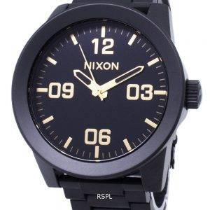 Nixon korpraali SS A346-1041-00 analoginen kvartsi Miesten Watch