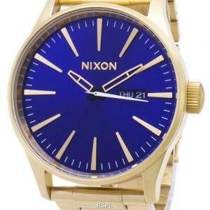 Nixon Sentry SS A356-2735-00 analoginen kvartsi Miesten Watch