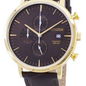 Kansalainen Chronograph AN3612-09 X kvartsi analoginen Miesten Watch