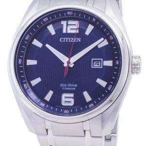 Citizen Eco-Drive AW1240 - 57M Titanium analoginen miesten kello