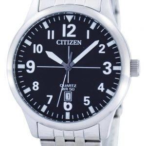 Kansalainen Quartz Black Dial BI1050 81F Miesten Watch