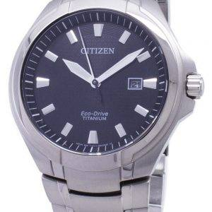 Citizen Eco-Drive BM7430-89E Titanium analoginen miesten kello