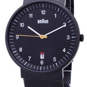 Braun Classic BN0032BKBKMHG analoginen kvartsi Miesten Watch