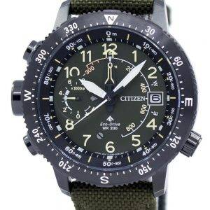 Kansalaisten Promaster Eco-aseman ikuinen kalenteri 200M BN4045-12 X Miesten Watch