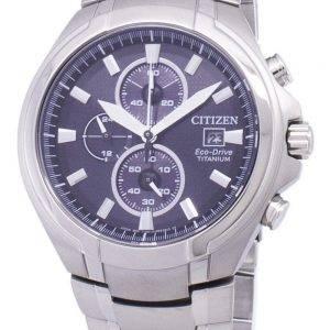 Citizen Eco-Drive CA0700-86E Chronograph Titanium miesten kello