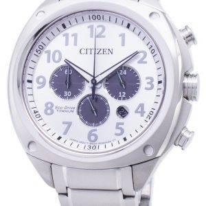Citizen Eco-Drive CA4310-54 Titanium Chronograph analoginen miesten kello