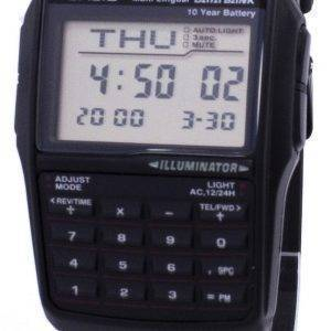 Casio Digital tietopankki 5 hälytys monikielinen DBC 32 1ADF DBC-32-1A Miesten kello
