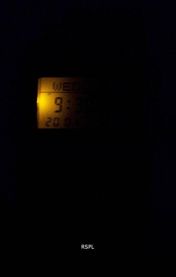 Casio Digital ruostumattomasta teräksestä tietopankki monikielinen DBC 611 G 1DF DBC-611 G-1 Miesten kello