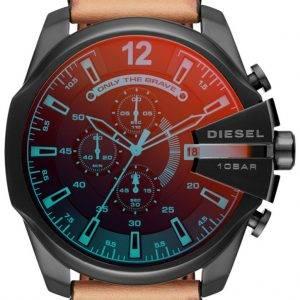 Diesel aikataulut Mega Chief Chronograph Quartz DZ4476 Miesten Watch