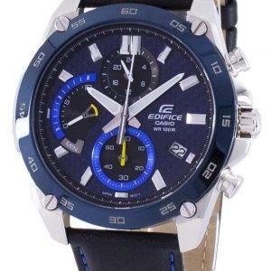 Casio rakennelma Chronograph kvartsi EFR-557BL-2AV EFR557BL 2AV Miesten Watch