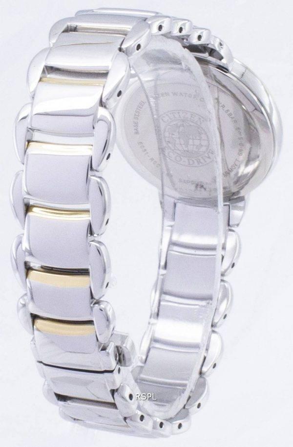 Citizen Eco-Drive EM0674-81A analoginen naisten Watch