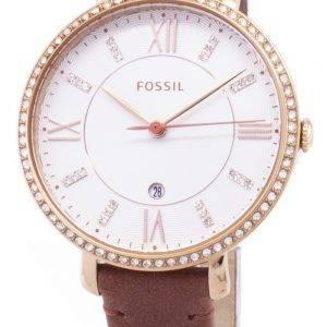 Fossiilisten Jacqueline ES4413 kvartsista analoginen naisten Watch