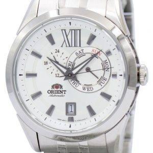 Orient urheilullinen automaattinen valkoinen soittaa ET0X005W Miesten kello