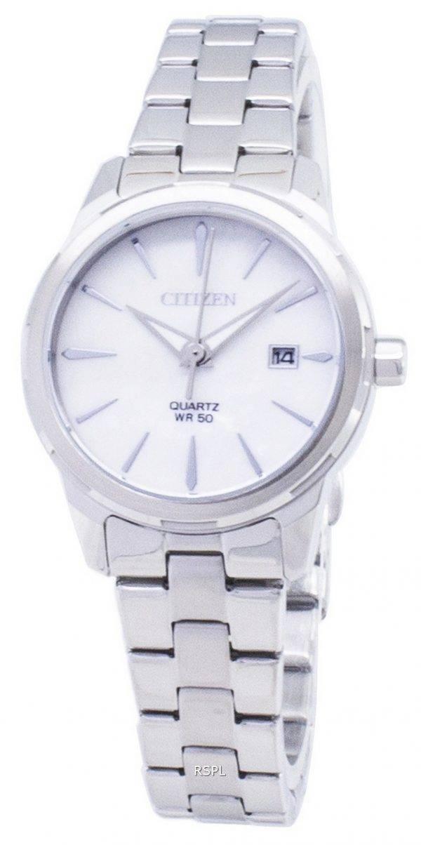 Kansalainen Elegance Quartz EU6070 - 51D analoginen naisten Watch