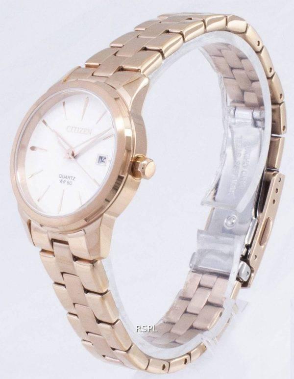 Kansalainen Quartz EU6073-53A analoginen naisten Watch