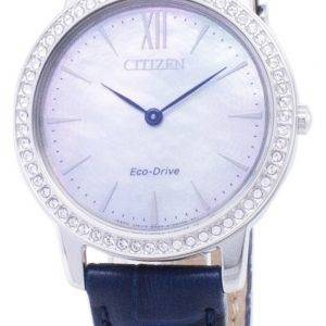 Citizen Eco-Drive EX1480 - 15D Diamond aksentti analoginen naisten Watch