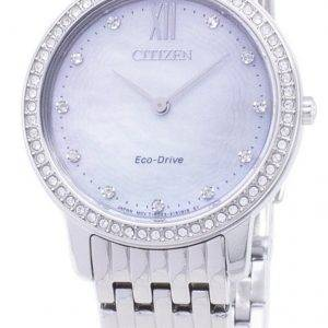 Citizen Eco-Drive EX1480 82D Diamond aksentti analoginen naisten Watch
