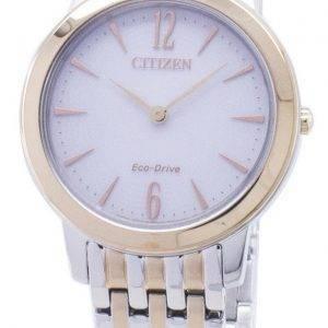 Citizen Eco-Drive EX1496-82A analoginen naisten Watch