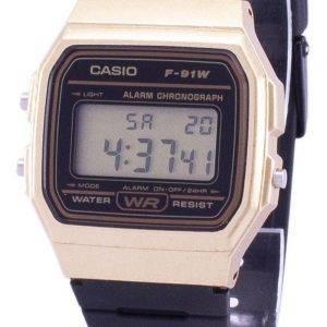 Casio Vintage Chronograph hälytys 9A/91WM/F F91WM-9A Unisex kvartsikellot