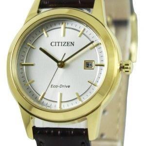 Citizen Eco-Drive päivämäärä näyttö FE1083 02A naisten kello