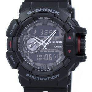 Casio G-Shock analoginen digitaalinen GA-400-1B Miesten kello