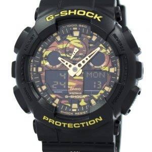 Casio G-Shock naamiointi sarja GA 100CF 1A9 Miesten kello