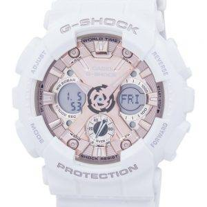 Casio G-Shock iskunkestävä World Time analoginen digitaalinen GMA S120MF 7A2 Miesten Watch