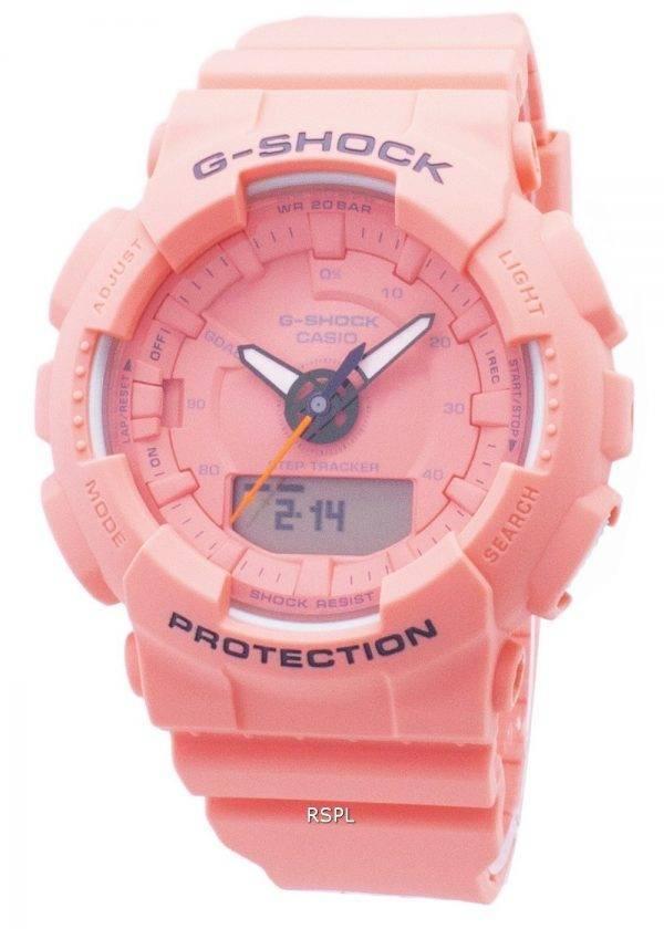 Casio G-Shock GMA-S130VC-4A GMAS130VC-4A vaihe Tracker analoginen digitaalinen 200M Miesten Watch