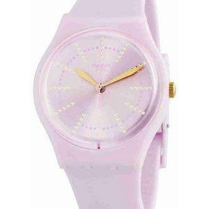 Swatch alkuperäiset Guimauve analoginen Quartz GP148 naisten Watch