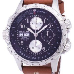 Hamilton Khaki X-tuuli Automaattinen Chronograph H77616533 miesten kello