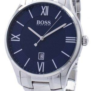 Hugo Boss kuvernööri klassinen kvartsi 1513487 Miesten Watch