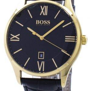 Hugo Boss kuvernööri Quartz 1513554 Miesten Watch