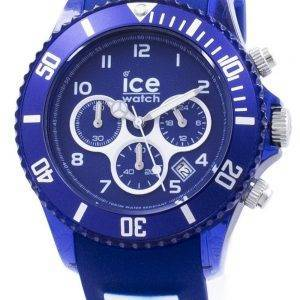 ICE Aqua Marine suuri Chronograph Quartz 012734 Miesten Watch
