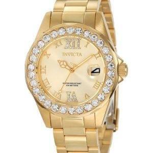Invicta Pro Diver Crystal painollinen kvartsi 200M 15252 naisten kello