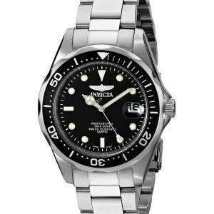 Invicta Pro Diver 200M Quartz Black Dial INV8932/8932 Miesten kello