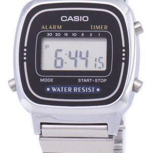 Casio Digital Classic herätyskello ajastin LA670WA 1DF LA670WA-1 Naisten kello