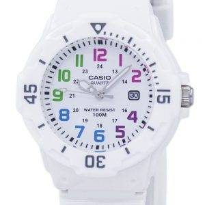 Casio Enticer analoginen valkoinen soittaa LRW 200H 7BVDF LRW 200H 7BV naisten kello