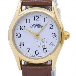 Casio kvartsi analoginen LTP 1094Q 7B7 naisten Watch