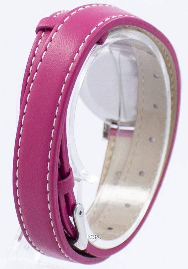 Casio analoginen kvartsi kahden silmukan LTP E143DBL 4A1 LTPE143DBL-4A1 naisten Watch