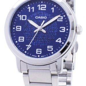 Casio kvartsi LTP-E159D-2B LTPE159D-2B analoginen naisten Watch