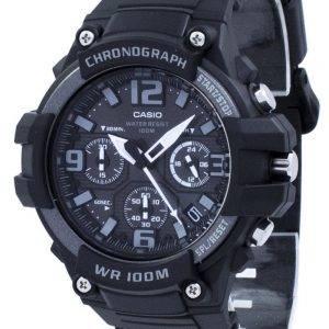 Casio Chronograph kvartsi MCW 100H 1A3V MCW100H 1A3V Miesten Watch