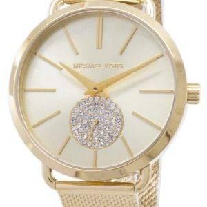 Michael Kors Portia kvartsi Diamond aksentti MK3844 naisten Watch