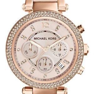 Michael Kors Parker Swarovskin kristalleja MK5896 naisten kello