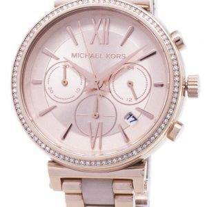 Michael Kors Sofie Chronograph kvartsi Diamond aksentti MK6560 naisten Watch