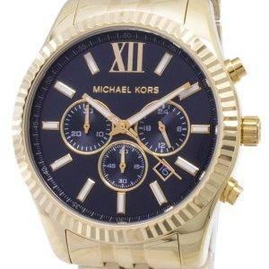 Michael Kors Lexington Chronograph Black Dial kulta-tone MK8286 Miesten kello