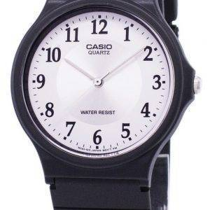 Casio kvartsi analoginen valkoinen soittaa 7B3LDF/24/MQ MQ-24-7B3L Miesten kello