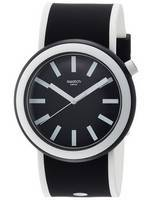 Swatch alkuperäiset Poplooking analoginen Quartz PNB100 Miesten Watch
